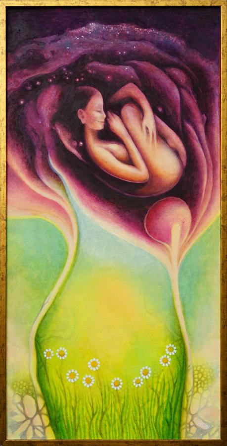 Joanna Tokarczyk obraz olejny