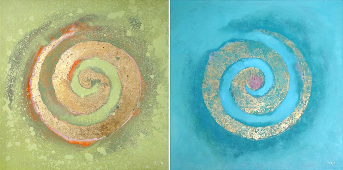 Joanna Tokarczyk obrazy olejne
