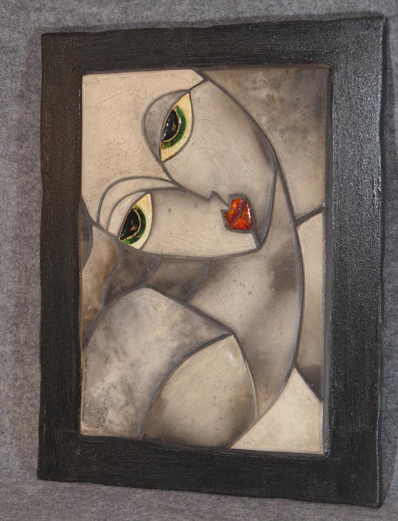 Joanna Kowalska-Wolszczak mozaika, płaskorzeżba ceramiczna