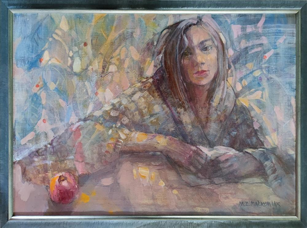 Małgorzata Zofia Maćkowiak obraz olejny