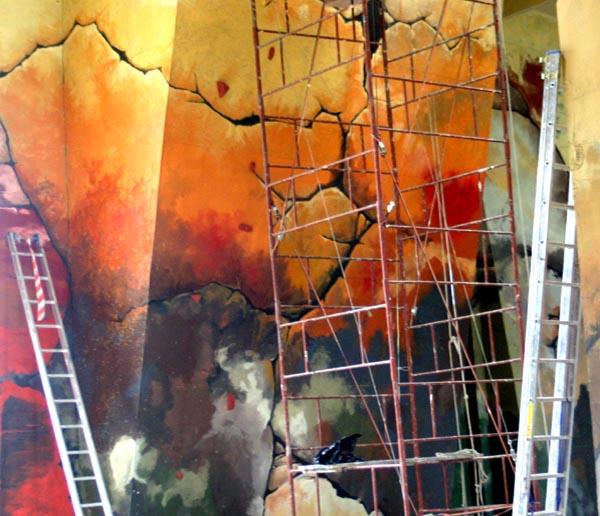 Murale i malarstwo na ścianie
