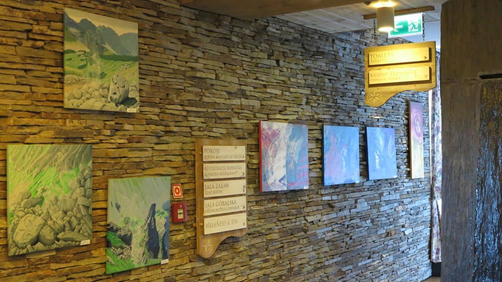 Wystawa w Hotelu Bania w Białce Tatrzańskiej